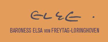 Baroness Elsa Von Freytag-Loringhoven